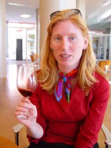 Sampling Wine in Napa