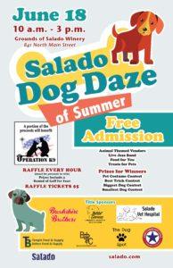 2016 Dog Daze Poster